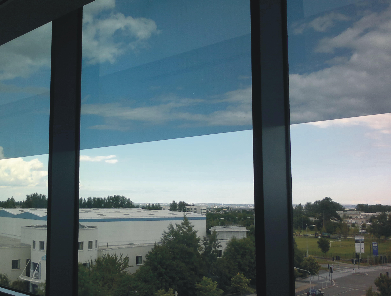 film solar espejo