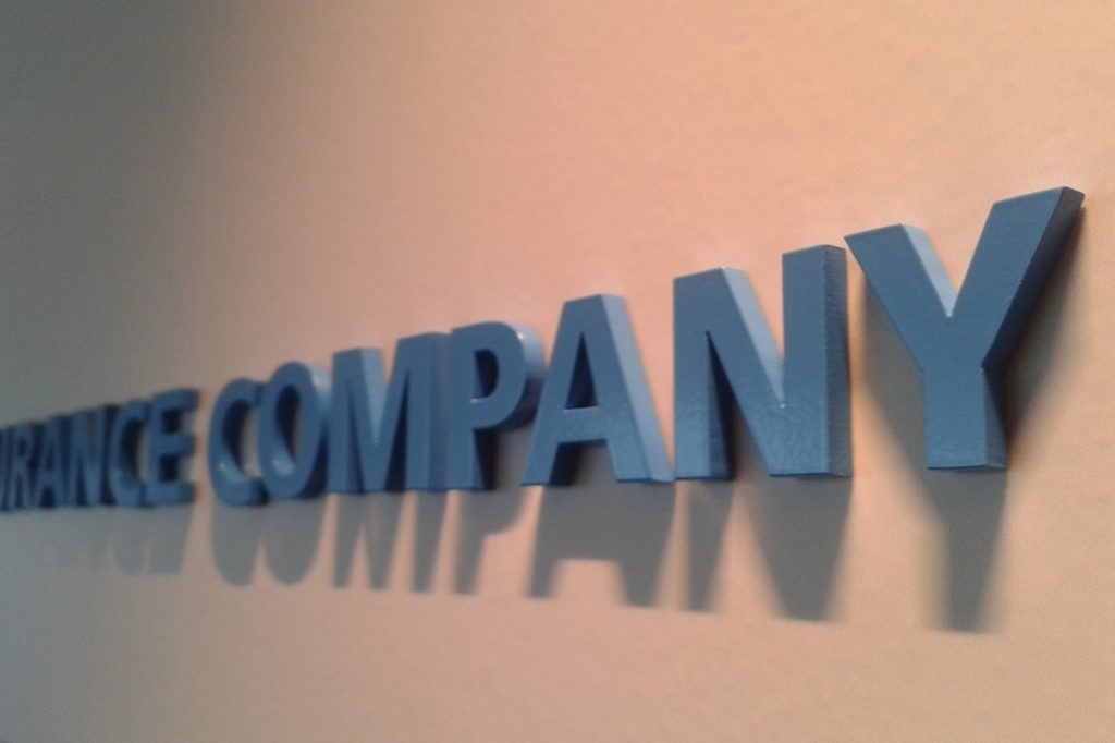 Letras corporeas 3D empresa