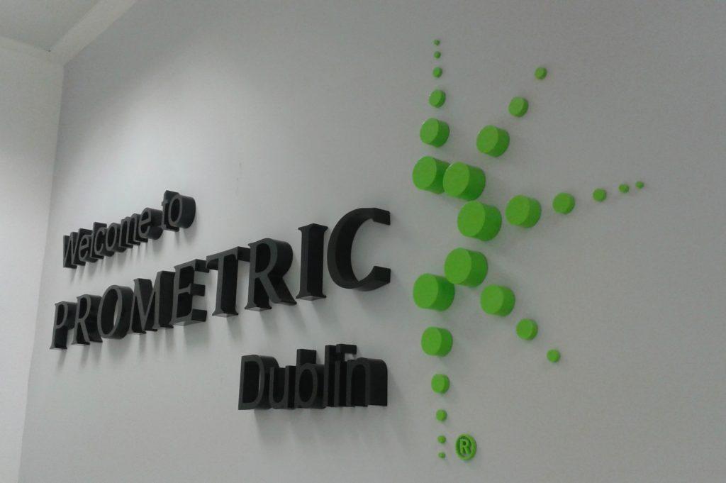 señaletica 3D empresa