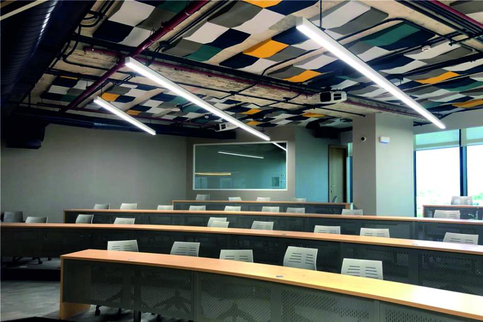 paneles acusticos sala conferencias