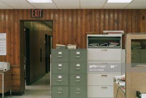 Oficina con modulos