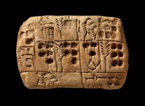 soportes para la escritura en piedra